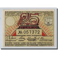 Billet, Allemagne, Schleswig-Holstein, 25 Pfennig, Paysage, O.D, SPL - Other