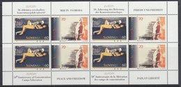 Europa Cept 1995 Slovenia 2v  Sheetlet ** Mnh (39534B) KNOCK OUT PRICE - 1995