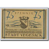 Billet, Allemagne, Vegesack, 75 Pfennig, Bateau, 1921, 1921-12-01, SPL - Other