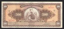 500  СОЛЕЙ ПЕРУ  1963 - Peru