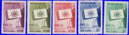 Vietnam Sud 1957. ~ YT 70 à 74** - 9è Conférence Du Plan De Colombo - Vietnam