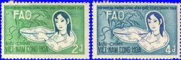 Vietnam Sud 1960. ~ YT 151 à 152** - F.A.O. - Vietnam