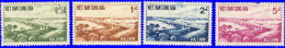 Vietnam Sud 1961 ~ YT 169 à 172** - Inauguration Autoroute Saïgon-Biên-Hoa - Vietnam