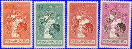 Vietnam Sud 1961 ~ YT 177 à 180** - Réarmement Moral De La Jeunesse - Vietnam