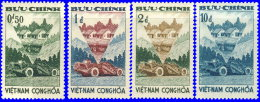 Vietnam Sud 1961 ~ YT 184 à 187** - Réforme Rurale - Vietnam