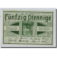 Billet, Allemagne, Schweinitz Stadt, 50 Pfennig, Paysage, 1921, 1921-01-15, SPL - Other