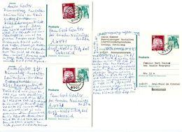 Germany 1978 3 Uprated Postal Cards Schwarzenbruck To Arzl-Wald Im Pitztal, Austria - [7] Federal Republic