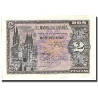 Billet, Espagne, 2 Pesetas, 1938, 1938-04-30, KM:109a, SPL+ - [ 3] 1936-1975 : Régence De Franco
