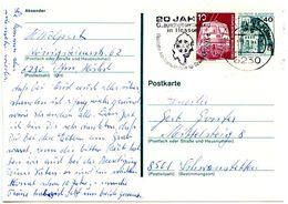 Germany 1979 Uprated Postal Card Frankfurt To Schwanstetten - [7] Federal Republic