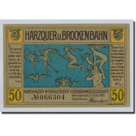 Billet, Allemagne, Wernigerode, 50 Pfennig, Paysage, 1921, 1921-03-01, SPL - Other