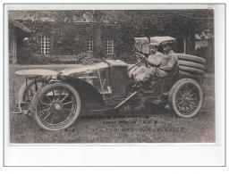 Circuit De La Seine Inférieure 1907 - Grand Prix De L'A.C.F. - Edmond Sur Voiture Renault - Très Bon état - Non Classés