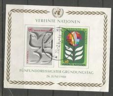 NACIONES UNIDAS ONU UNO 1980 - Otros - Europa