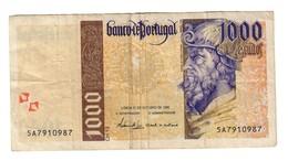 Portugal 1000 Escudos 31/10/1996 *L* - Portogallo