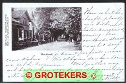 ZELHEM Koestraat Met Deel Burgemeesterswoning 1901 Grootrondstempel ZELHEM - Nederland