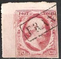 NEDERLAND 2 Hoek Exemplaar Zie Afbeelding - Periode 1852-1890 (Willem III)