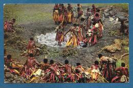 FIJI FIJIAN FIREWALKING 1970 - Figi