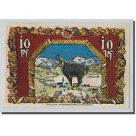 Billet, Allemagne, Schliersee, 10 Pfennig, Animaux, 1921, 1921-06-15, SPL - Other