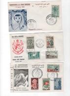 Tunisie -1er Jour- LOT DE 8 LETTRES DE 1959- - Tunisie (1956-...)