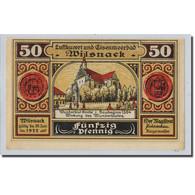 Billet, Allemagne, Wilsnack, 50 Pfennig, Personnage, O.D, SPL, Mehl:1433 - Other
