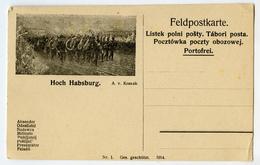 Austria, Hoch Habsburg Illustrated Feldpostkarte Unused B180720 - Briefe U. Dokumente