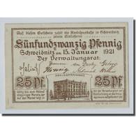 Billet, Allemagne, Trier, 25 Pfennig, Paysage, 1921, 1921-01-15, SPL - Other