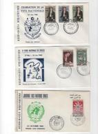 Tunisie -1er Jour- LOT DE 3 LETTRES DE 1960 - Tunisie (1956-...)
