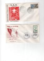 Tunisie -1er Jour- LOT DE  LETTRES DE 1964 &1965 - Tunisie (1956-...)
