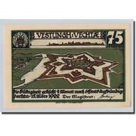Billet, Allemagne, Vechta, 75 Pfennig, Animaux, 1922, 1922-03-15, SPL - Other