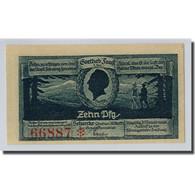 Billet, Allemagne, Schierke Im Harz, 10 Pfennig, Paysage, 1921, 1921-05-30, SPL - Other