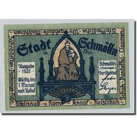 Billet, Allemagne, Schmolln, 50 Pfennig, Personnage, 1921, SPL, Mehl:1189.2 - Other