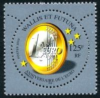 WALLIS ET FUTUNA 2003 - Yv. 590 ** TB  Cote= 3,35 EUR - Anniversaire De L'Euro  ..Réf.W&F22023 - Wallis And Futuna
