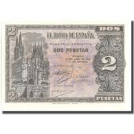 Billet, Espagne, 2 Pesetas, 1938, 1938-04-30, KM:109a, NEUF - [ 3] 1936-1975 : Regency Of Franco
