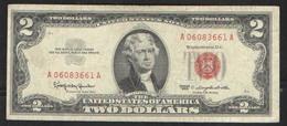 USA 2 $   1963 - Biljetten Van De  Federal Reserve (1928-...)