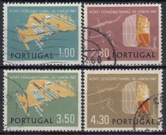 PORTUGAL 1967 Nº 1017/20 USADO - 1910-... République