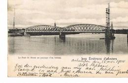Le Pont De Boom Au Passage D'un Bateau - 1900 - Boom