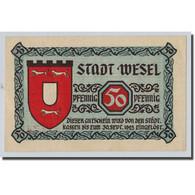 Billet, Allemagne, Wesel, 50 Pfennig, Monument, 1923, 1923-09-30, SPL - Other