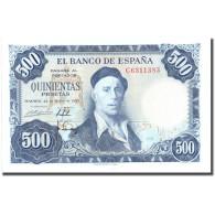 Billet, Espagne, 500 Pesetas, 1954, 1954-07-22, KM:148a, SPL+ - [ 3] 1936-1975: Regime Van Franco