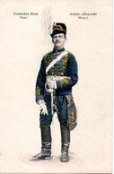 Armée Allemande - Hussard - Monnaies (représentations)