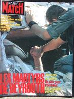 PARIS MATCH N°1797 (4 Nov 1983) Les Martyres De Beyrouth - Johnny Et Nathalie - Mariel Hemingway - Algemene Informatie
