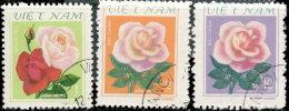 Vietnam Rép Socialiste 1980. ~ YT 209/11 - Roses - Vietnam