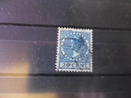 PAYS BAS   YVERT N° 145 - 1891-1948 (Wilhelmine)