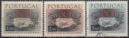 PORTUGAL 1968 Nº 1035/37 USADO - 1910-... République