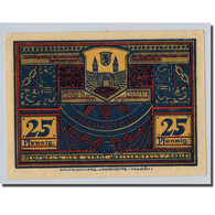 Billet, Allemagne, Weissenfels, 25 Pfennig, Paysage, 1921, SPL, Mehl:1403.1 - Other