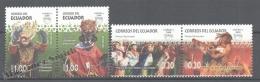 Equateur - Ecuador 2008 Yvert 2110-13, América UPAEP, National Celebrations - MNH - Ecuador