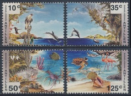 "Nederlandse Antillen 1994 B41 =Mi 812 /5 ** Nature Protection / Umweltschutz / Préservation - ""PHILAKOREA '94"" - Milieubescherming & Klimaat"