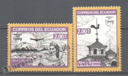 Equateur - Ecuador 2012 Yvert 2413-14, América UPAEP, Myths & Legends - MNH - Ecuador