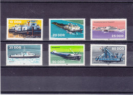 RDA 1981 BATEAUX Yvert 2306-2311 NEUF** MNH - Neufs