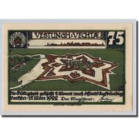 Billet, Allemagne, Vechta, 75 Pfennig, Paysage, 1922, 1922-03-15, SPL - Other