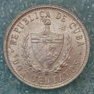 Cuba 2 Centavos, 1984 - Cuba