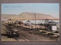 Antique Postcard - Tarjeta Postal Chile Chili - Iquique - Avenida Cavancha - Carriage - Edw. E. Muecke - Antofagasta - Chili